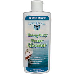 West Marine Heavy Duty Fender Cleaner Pure Oceans, Specialty Cleaners for Boats & Yachts