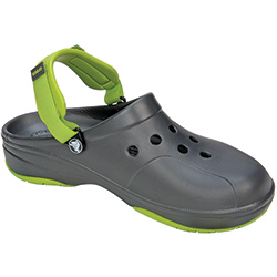 Crocs Men's Ace Boating Clogs Croc Navy/white 9/women's 11, Men's Boating Sandals