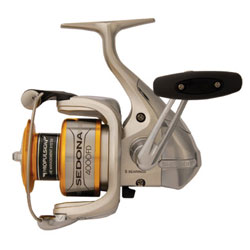 Shimano Sedona Fd Spinning Reels Se2500fd 140/8lb Yds/test 6 2 1 Gear Ratio 96 oz, Spinning Fishing Reels for Boats & Yachts