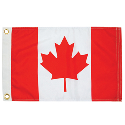 Taylor Made Canada Nylon Ensign Flags Canadian Flag 9x18, Marine Foreign Courtesy Flags