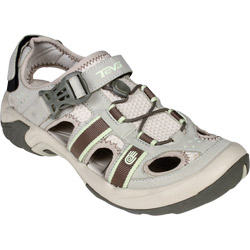Teva Women's Omnium Sandals Stone 6 5, Women's Boating Sandals
