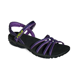 Teva Women's Kayenta Sandals Black/purple 7, Women's Boating Sandals