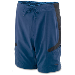 Old Harbor Outfitters Men's Kai Board Shorts Navy 38, Men's Boating Board Shorts