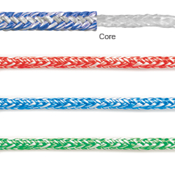 Fse Robline Racing Sheet Pro 8mm Pro 4180lb Breaking Strength Green, Dyneema & Spectra Lines for Boats & Yachts