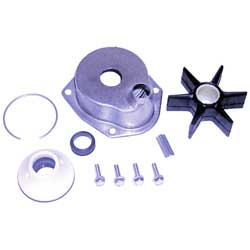 Sierra Water Pump Repair Kit With Housing For Mercury/mariner Outboard Motors, Cooling Systems for Boats & Yachts