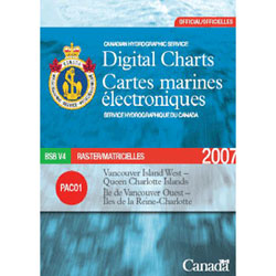 Canadian Hydro Lake Huron North Channel, Foreign Charts for Boats & Yachts