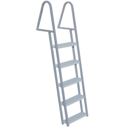 Tie Down Engineering 5 Step Dock Ladder Five, Dock Boarding Ladders for Boats & Yachts