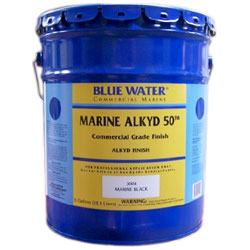 Blue Water Marine Paint Marine Alkyd 50 Primer (commercial/industrial Only) International Orange Gal, Topside Paint for Boats & Yachts