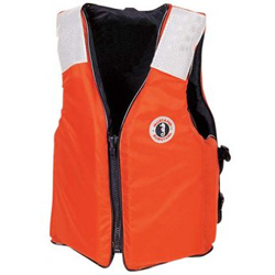 Mustang Survival Classic Industrial Flotation Vest Medium, Commercial Life Jackets for Boats & Yachts