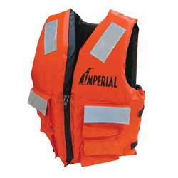 Imperial General Purpose 4 Pocket Vest S/m, Commercial Life Jackets for Boats & Yachts