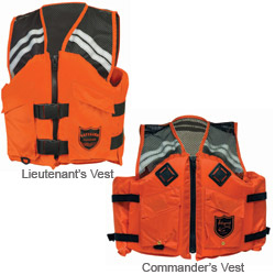 Imperial Mesh Series Industrial Life Jackets Commander's Vest L/xl, Commercial Life Jackets for Boats & Yachts