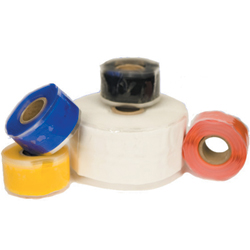 Rescue Tech Rescue Tape 1''w X 12'l White, Wire Support & Heat Shrink for Boats & Yachts
