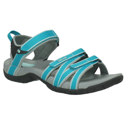 Teva Women's Tirra Sandals Algiers Blue 9 5, Women's Boating Sandals
