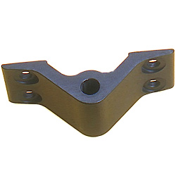 Sea Sure Transom Fittings Lightweight Top Gudgeon 2 Hole Mounting 5mm Holes 12 7mm Height, Rudder Hardware for Boats & Yachts