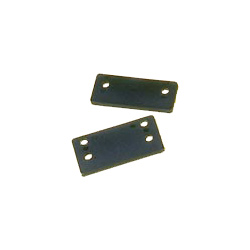 Sea Sure Transom Fitting Packing Pieces 2 Hole 5mm Thick, Rudder Hardware for Boats & Yachts