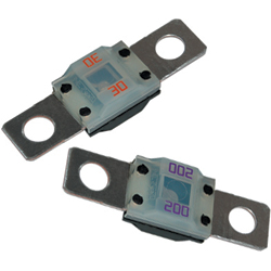 Blue Sea Systems Midi Fuses 60 Amps Yellow, Circuit Protection for Boats & Yachts