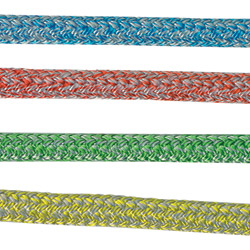 New England Ropes Endura Braid Dyneema Double In Euro Colors 8mm Braid 7000lb Breaking Strength Green, Dyneema & Spectra Lines for Boats & Yachts