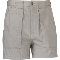 Hook & Tackle Men's Original Beer Can Island Shorts Sand 36, Men's Boating Casual Constructed Shorts