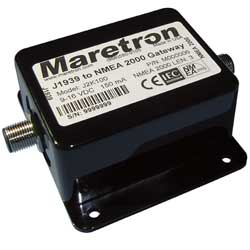 Maretron J2k100 J1939 To Nmea 2000 Gateway Adapter Micro Female Deutsch, Instrument Accessories for Boats & Yachts