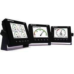 Maretron Dsm250 Multi Function Color Display Bright (white), Network Displays for Boats & Yachts