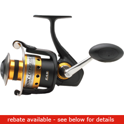 Penn Conquer 5000 Metal Spin 205/14lb 14 6oz, Spinning Fishing Reels for Boats & Yachts