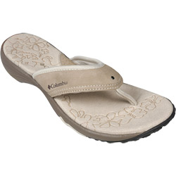 Columbia Women's Kambi Flips Tusk 9, Women's Boating Flip Flops