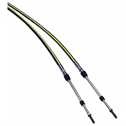 Teleflex Omc Volvo Tfx Treme Control Cable Assembly 11', Control Cables for Boats & Yachts