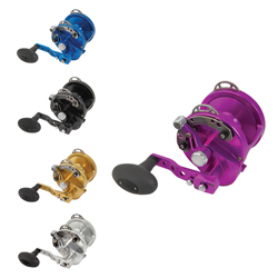 Avet Hx 5/2 Two Speed Models Hx5/2p Purple *ltd*, Conventional Fishing Reels for Boats & Yachts