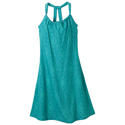 Prana Women's Quinn Dress Capri Blue/scallop, Women's Boating Short Dresses