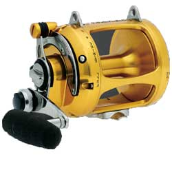 Penn International V Two Speed Series Conventional 70vs Color 600yds 80lb 35 Max Drag 100oz, Conventional Fishing Reels for Boats & Yachts