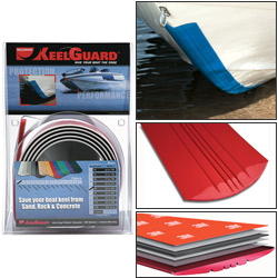 Megaware Keelguard Protection Strips 6' Strip For 17' 18' Boat Length Black, Bunks & Rollers for Boats & Yachts