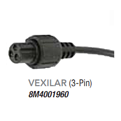Motorguide Vexilar 3 Pin 200 Khz Sonar Adapter, Fishing Trolling Motor Accessories for Boats & Yachts