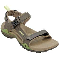 Teva Women's Toachi 2 Sandals Raven 6, Women's Boating Sandals