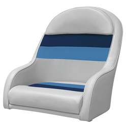 Wise Seating Bucket Seat Gray/navy, Boat Helm & Fishing Seats