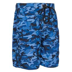 Guy Harvey Men's Aftco Waterman Board Shorts Khaki Camo 36, Men's Boating Board Shorts