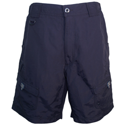 Hook & Tackle Men's Barrier Reef Shorts Navy 32, Men's Boating Technical Constructed Shorts