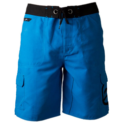 Zhik Men's Board Shorts Cyan 32, Men's Boating Board Shorts