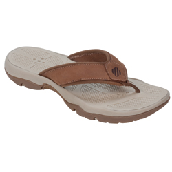 West Marine Women's Performance Flip Flops Oak 6, Women's Boating Flip Flops