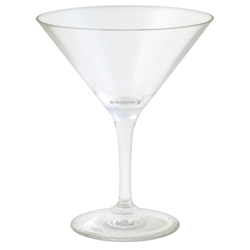 Strahl Design  Contemporary Collection Martini Cocktail Glass, Boat Storage & Organization