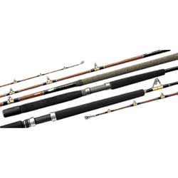 Daiwa V i p Conventional Rods 7' Medium F Action 1 Pc 12 30 Lb 9 Guides, Conventional Fishing Rods for Boats & Yachts