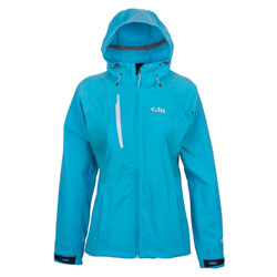 Gill Women's Hooded Pro Softshell New Blue 14, Women's Boating Inshore FWG Tops