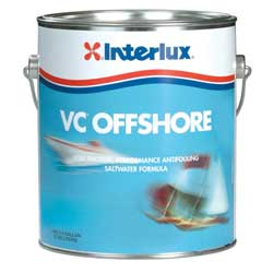 Interlux Vc Offshore Hard Vinyl Antifouling Bottom Paint Baltoplate Gray Gallon, Bottom Paint for Boats & Yachts