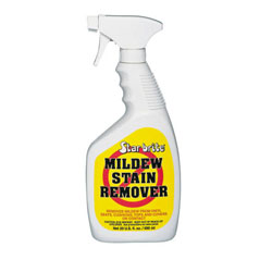 Star Brite Mildew Stain Remover 20 Oz, Specialty Cleaners for Boats & Yachts