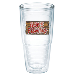 Tervis Gone Fishing Big T Tumbler, Boat Tableware