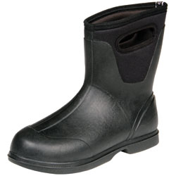 Bogs Men's Classic Ultra Mid Boots Black 9, Men's Boating Boots