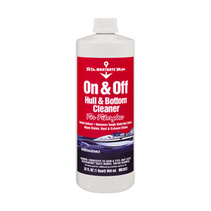 Marikate Shipshape On & Off Hull/bottom Cleaner Quart, Specialty Cleaners for Boats & Yachts