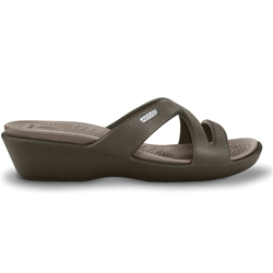 Crocs Women's Patricia Ii Wedges Sandals Navy Stucco 10, Women's Boating Sandals