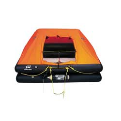 Plastimo Cruiser Orc Life Raft 4 Man Offshore Liferaft With Valise, Life Rafts for Boats & Yachts