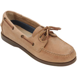 West Marine Women's Comfort Boat Mocs Taupe 8 5, Women's Boating Moccasins