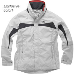 Gill Men's In31 Inshore Lite Jacket Silver/graphite 2xl, Men's Boating Inshore FWG Tops